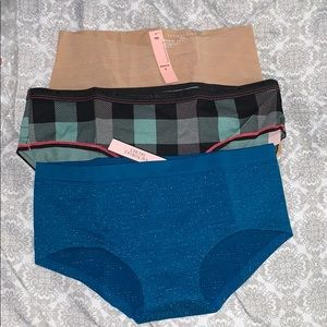 Victoria's Secret panties bundle of 3